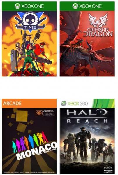 Juegos gratis para suscriptores Xbox Live Gold en septiembre (incluye Halo Reach)