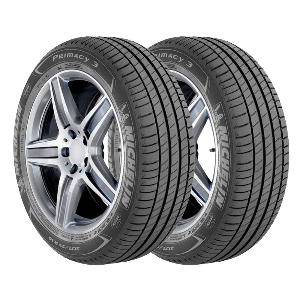 WALMART: 2 Llantas Michelin Primacy 3 205/55 R16 $2,999