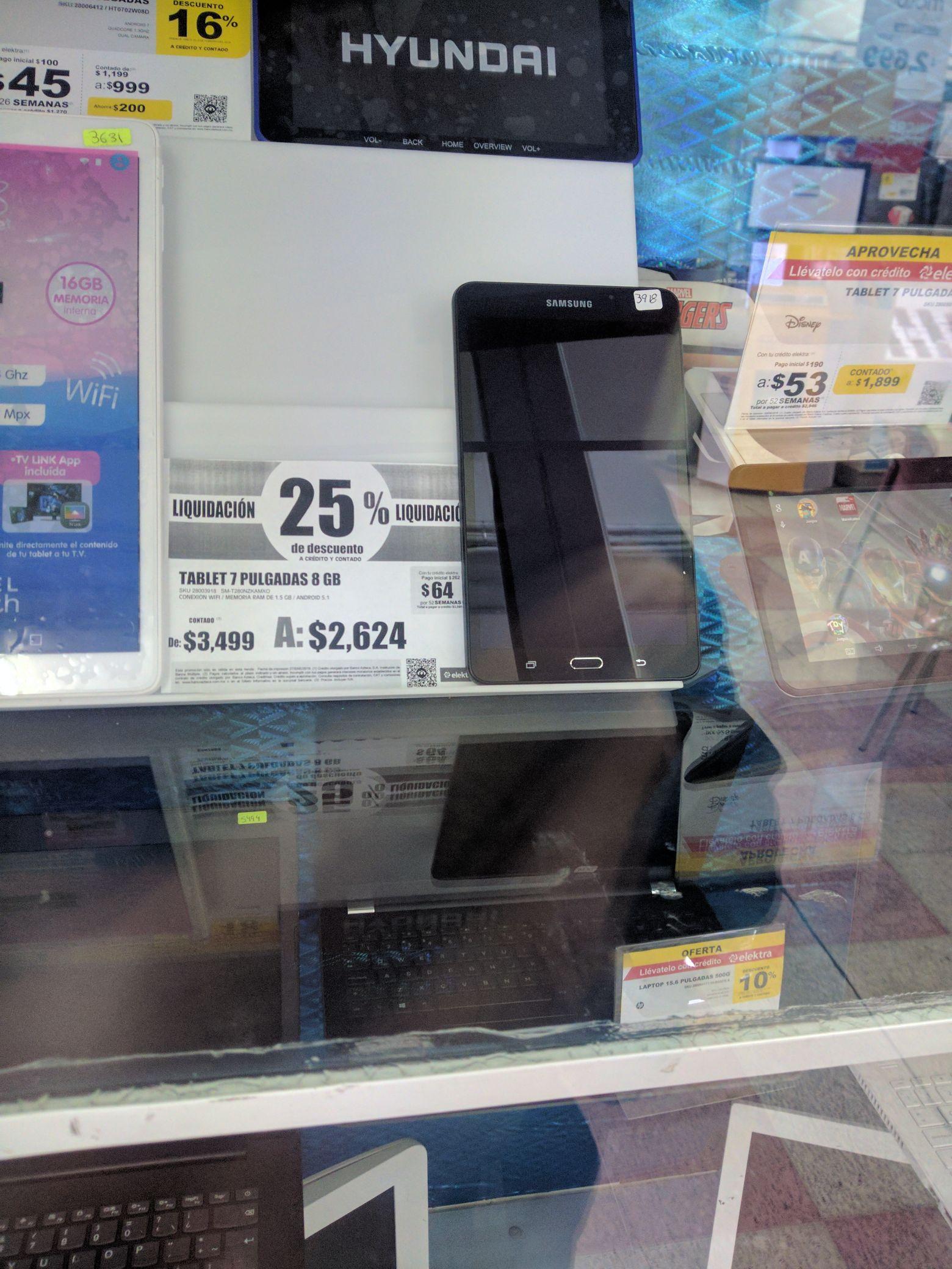 Elektra: Samsung galaxy tab A7