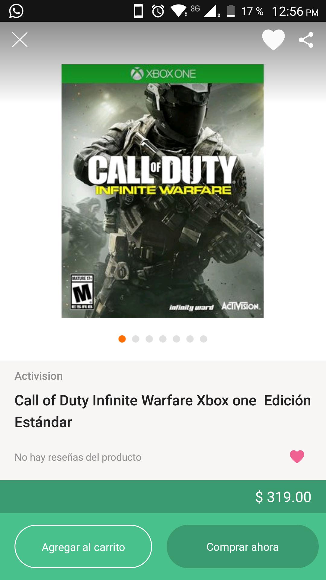 Linio: Call of Duty Infinite Warfare para Xbox One Edición Estándar