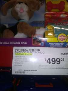 Sam's Club: Perrito Fur Real Friends de $1,400 a $499