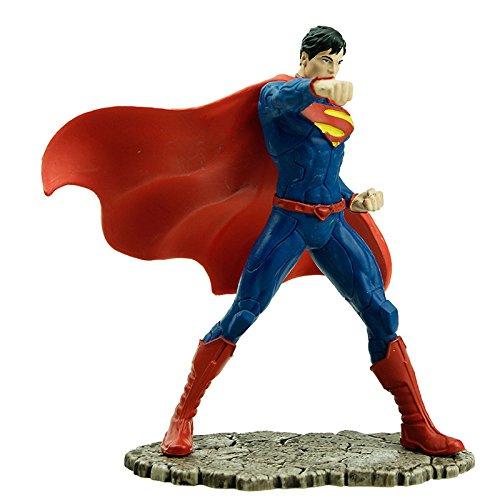 Amazon: Schleich Figurina Superman Luchando, color Azul/Rojo/Negro