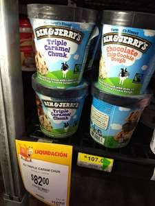Walmart: Helado Ben & Jerry's 475ml