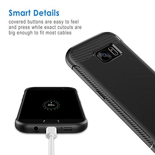 AMAZÓN: OFERTA RELÁMPAGO.JETech Funda para Samsung Galaxy S7,