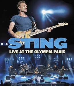 Amazon: STING Live at the Olympia Paris (+ Blu Ray Audio)