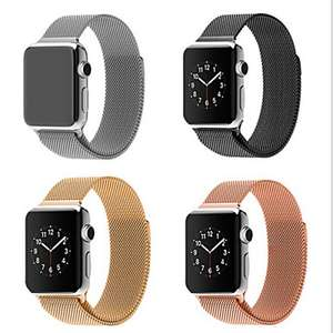 Light In The Box: Correa de acero inoxidable para apple Watch(38mm y42mm) con cupón