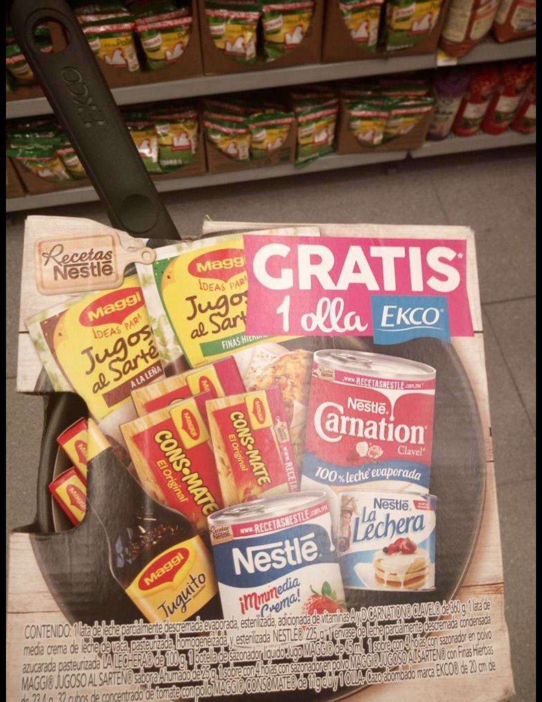 Walmart: Nestlé pack más sartén gratis
