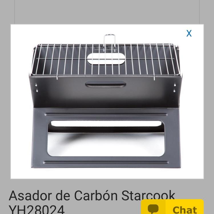 Coppel: asador de carbón Starcook