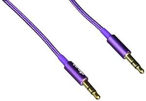 Amazon MX: Vorago CAB-108 Cable de Audio de 3.5 mm, color morado