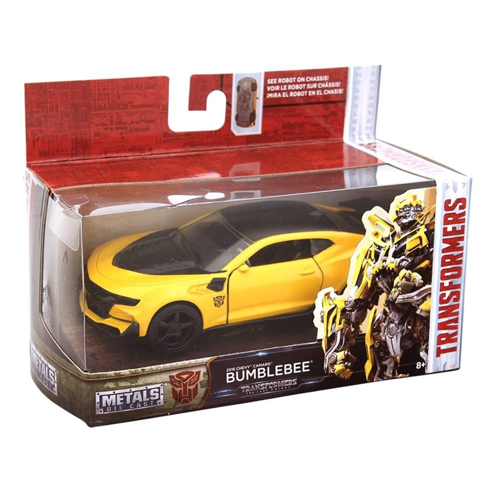 walmart en linea: Vehículo Metals Die Cast Transformers (BUMBLEBEE)