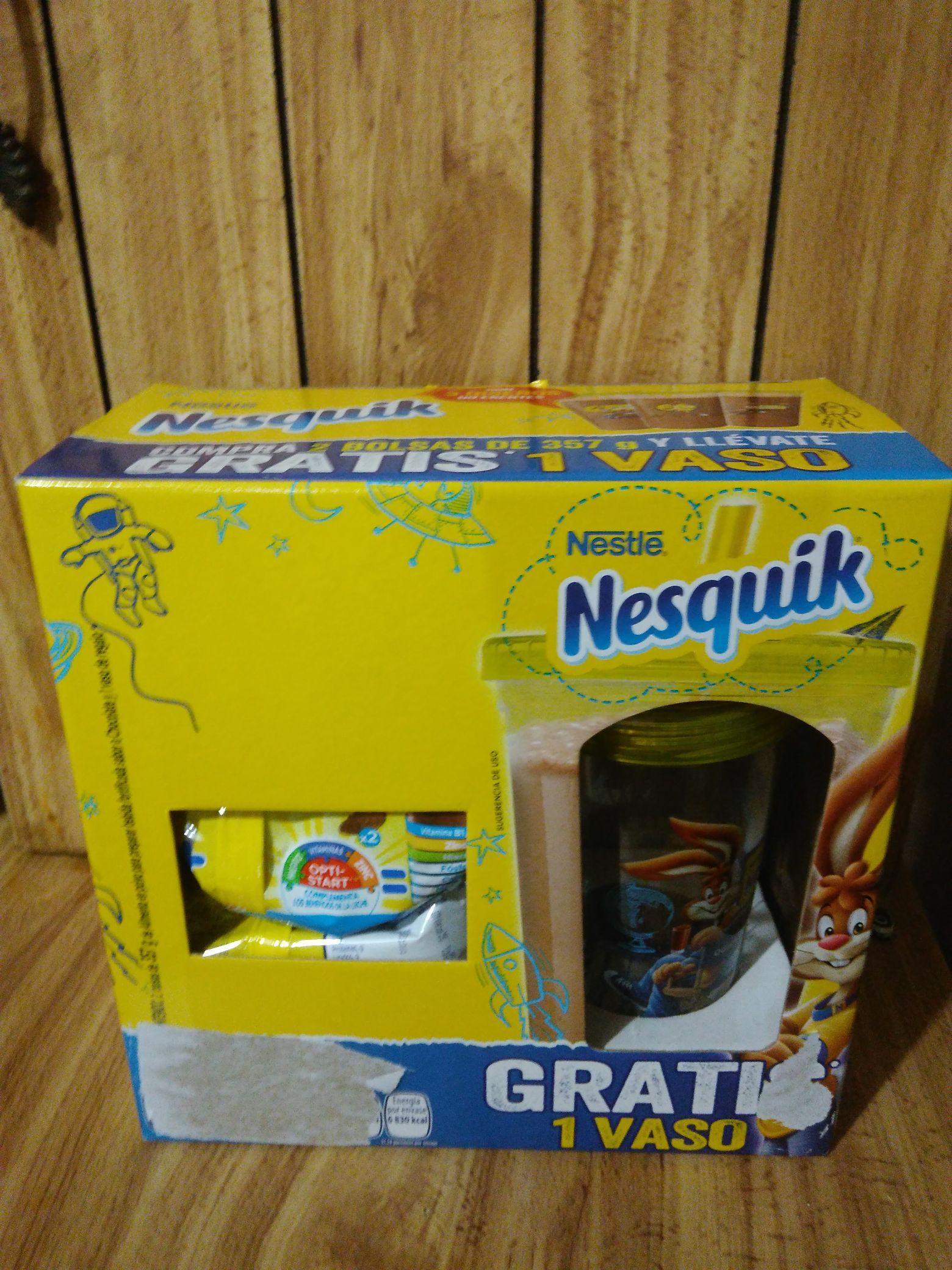 Chedraui- Paquete Nesquik y más...