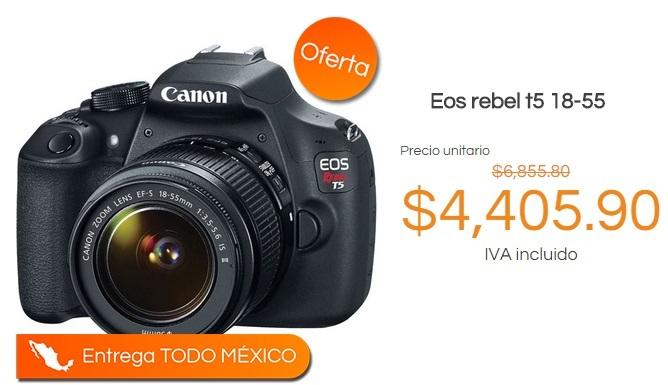Pedidos.com : Eos rebel t5 18-55