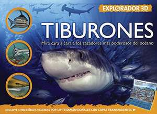 Amazon: Explorador 3D. Tiburones. Pasta dura