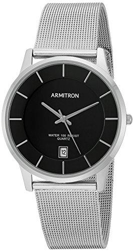 Amazon: Armitron 205123BKSV Reloj de Diseñador para Hombre