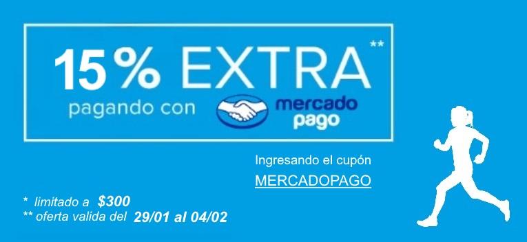 DeporPrivé: 15% Desc. con MercadoPago