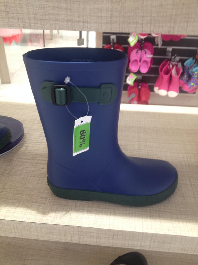 Liverpool Tlalnepantla: botas rainboots Igor 60% de descuento