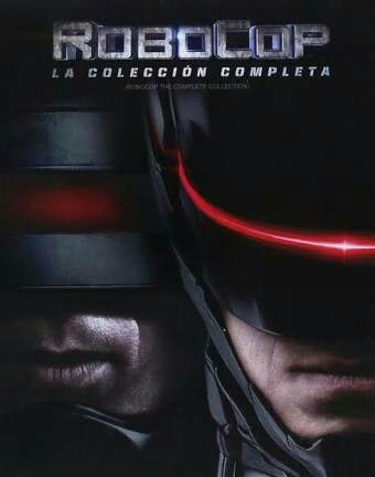 Elektra: Robocop Colección Completa en Blu-Ray