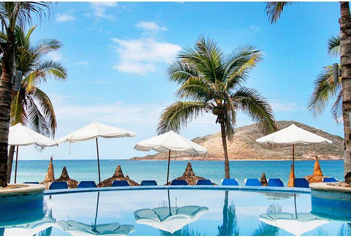 Clickonero: Mazatlán DE REMATE: Vuelo + 4 Noches En El Hotel Oceano Palace Mazatlán 4* O Similar + Desayunos Referencia: 35064 4 Estrellas7.8 Bueno PERSONAS - 1 + DE: 9,999 Por: 4,599 o 3 mensualidades de $ 1,533.00  ÚLTIMO DÍA AÑADIR A CARRITO