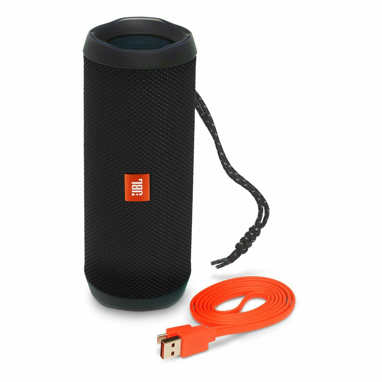 Amazon: Bocina JBL Flip 4, Portátil Bluetooth, color Negro