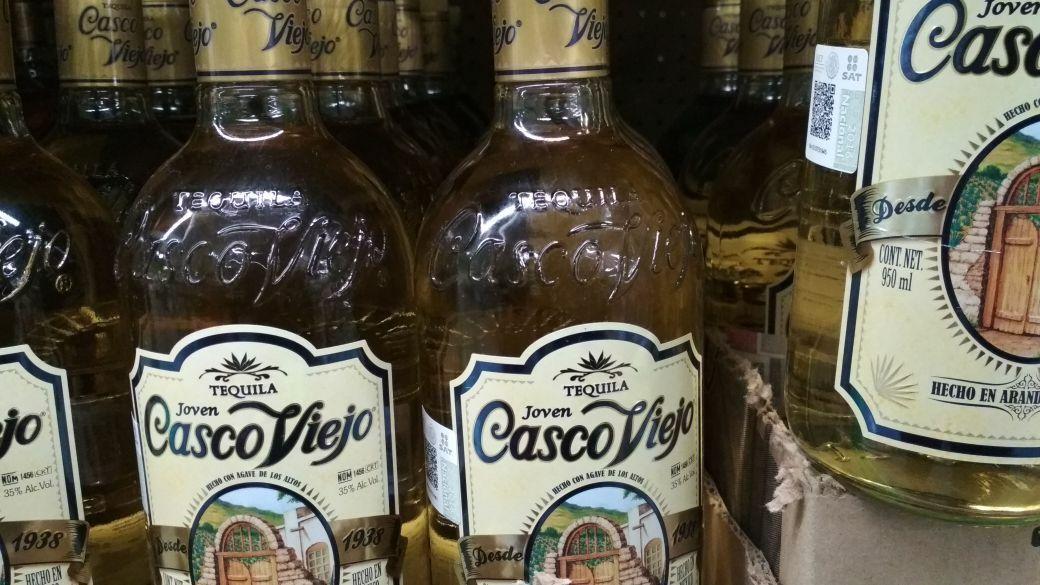Bodega Aurrerá: Tequila de 950 casco viejo en .03