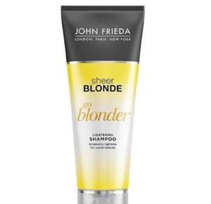 Walmart: Shampoo sheer blonde de John Frieda