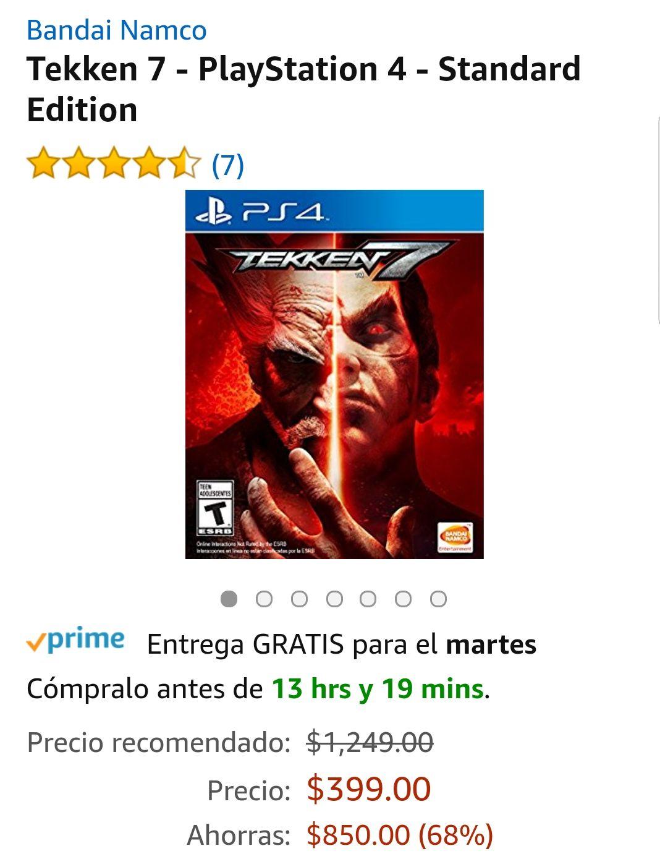 Amazon: Tekken 7 - PlayStation 4 - Standard Edition