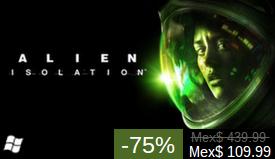 Steam: venta especial de Sega (ejemplo Alien Isolation $110)