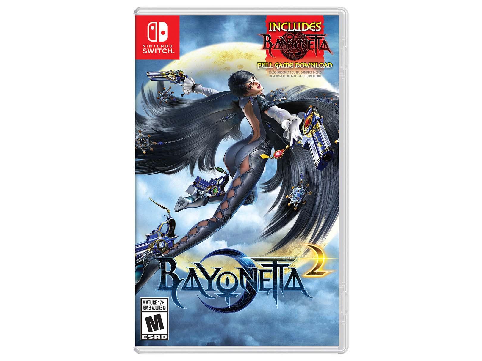 Liverpool: Bayonetta 2 Nintendo Switch (Incluye Bayonetta 1 en digital)