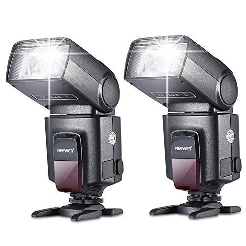 Amazon: Flash para Canon Nikon Sony Olympus Panasonic Pentax Fujifilm Sigma Minolta Leica y otras cámaras SLR Digital réflex con contacto único.