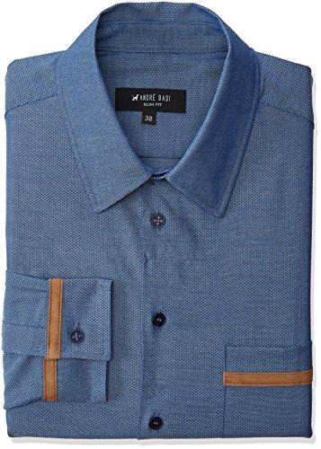 Amazon: André Badi Marigny Camisa de Vestir para Hombre