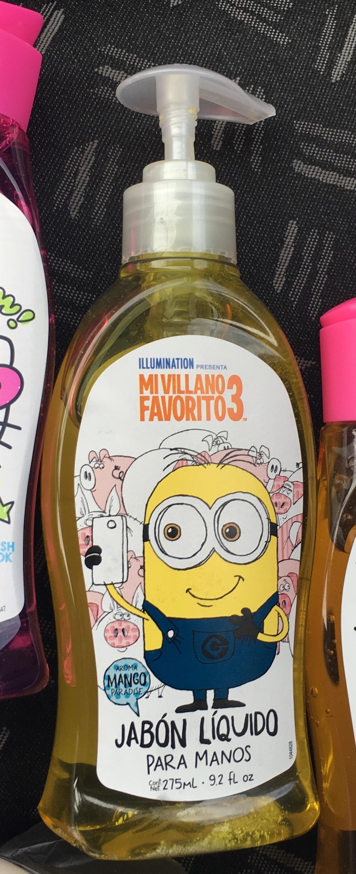 Walmart zinacantepec: jabón minions 0.01c, EOS $34.02