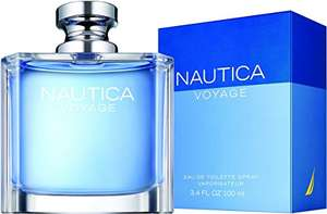 Amazon: Nautica Voyage for Men Eau de Toilette Spray, 3.4 Oz (vendido por un tercero)