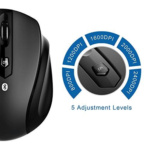 Amazon: JETech Ratón Bluetooth con las 3B´s Bueno, Bonito y Barato