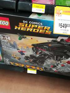 Walmart: Lego justice league $418.01