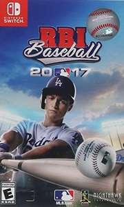 Aamazon: RBI Baseball 2017 - Nintendo Switch - Standard Edition (Oferta Relampago)