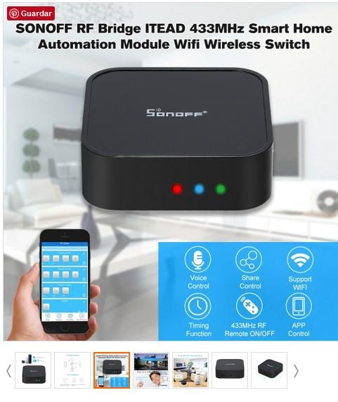 CAFAGO: Controlador WIFI Smart Home con cupón