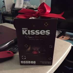 Walmart: chocolates kisses bolsa de 309.3 gris