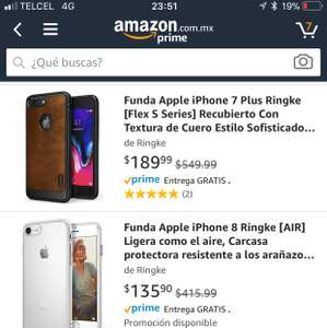 Amazon: Diferentes Fundas para IPhone's