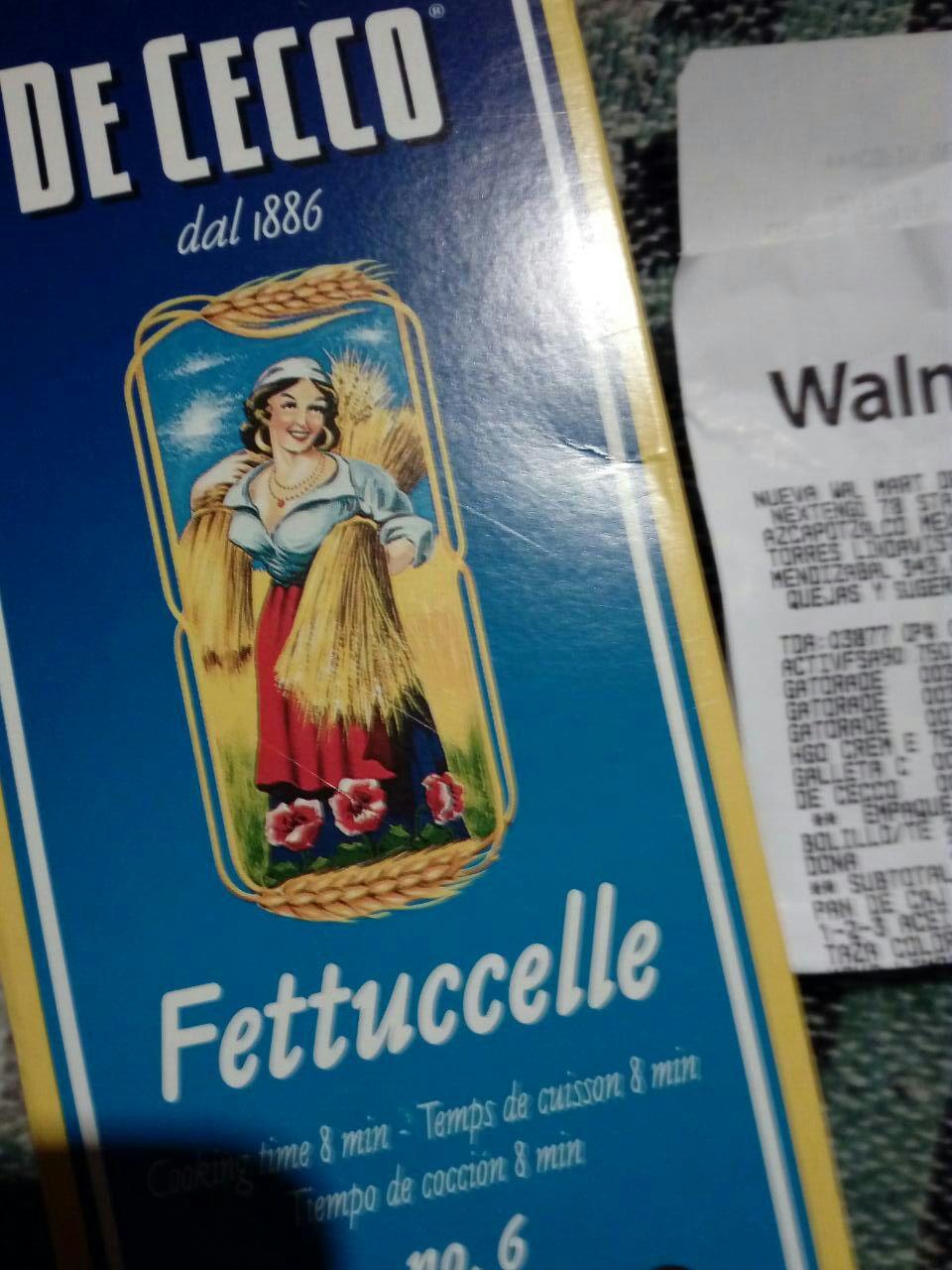 Walmart Torres Lindavista: Liquidación .01 pasta De Cecco.