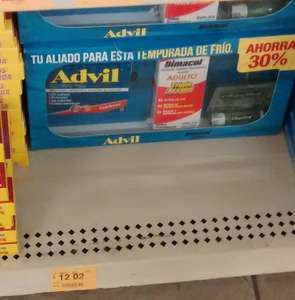 Superama: Kit invernal (Advil/Dimacol/Chapstick) de remate