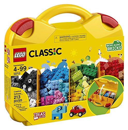 Amazon: Maletin de lego con 213 piezas y compartimentos