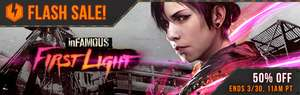 PSN Infamous First Light PS4 $7.50 USD (Flash Sale?) o menos con cupon.
