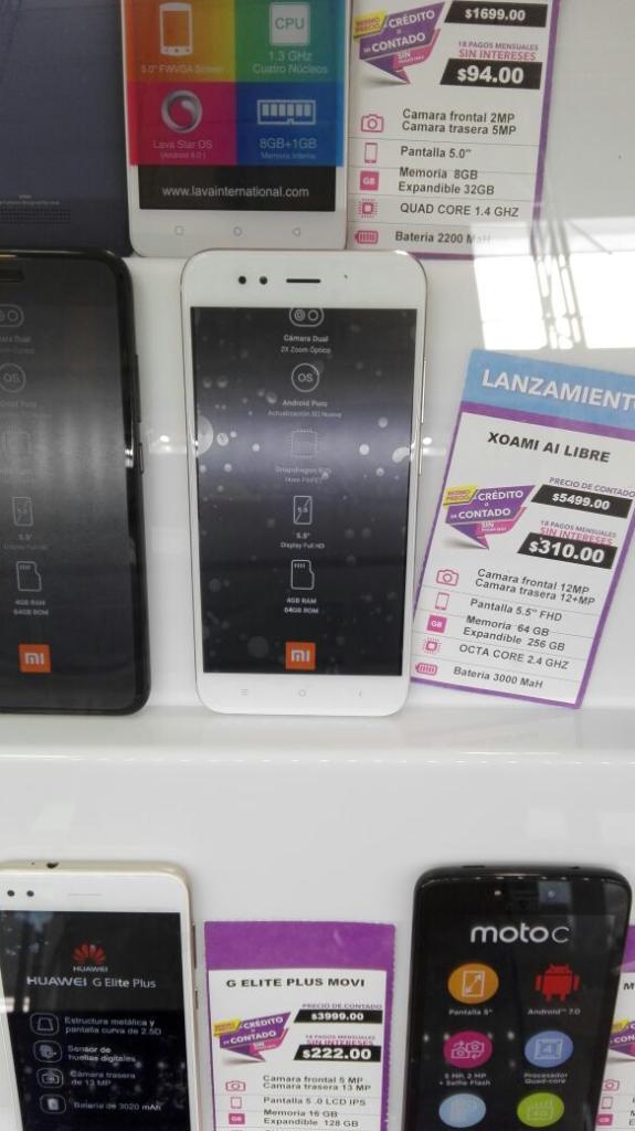 Suburbia: Xiaomi A1  (o menos con promociones)