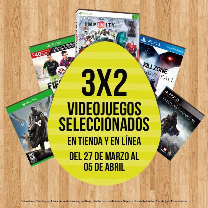GameRush: 3x2 en juegos seleccionados