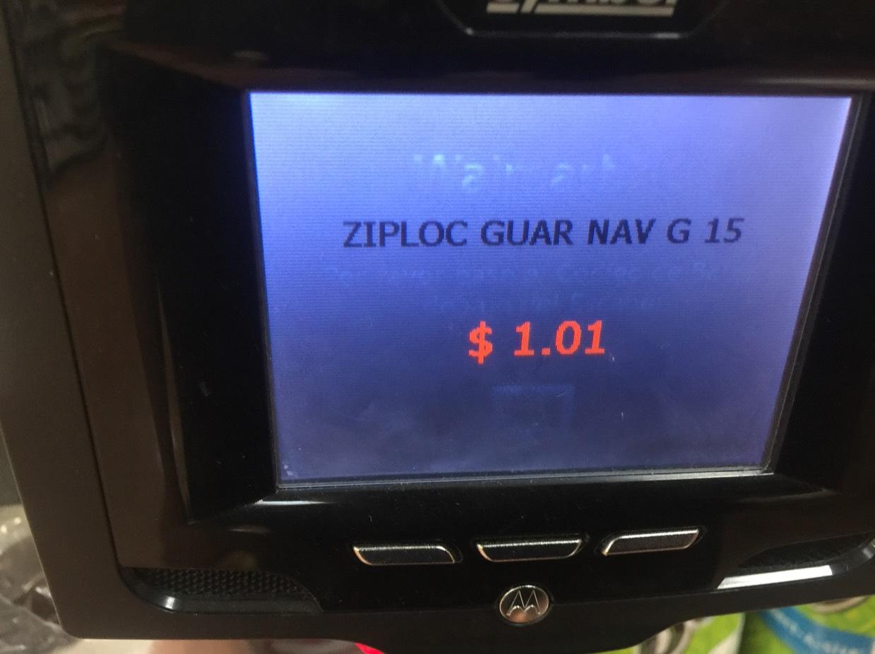Walmart: Ziploc Slider a 1.01 y vasos Great valué 5.02