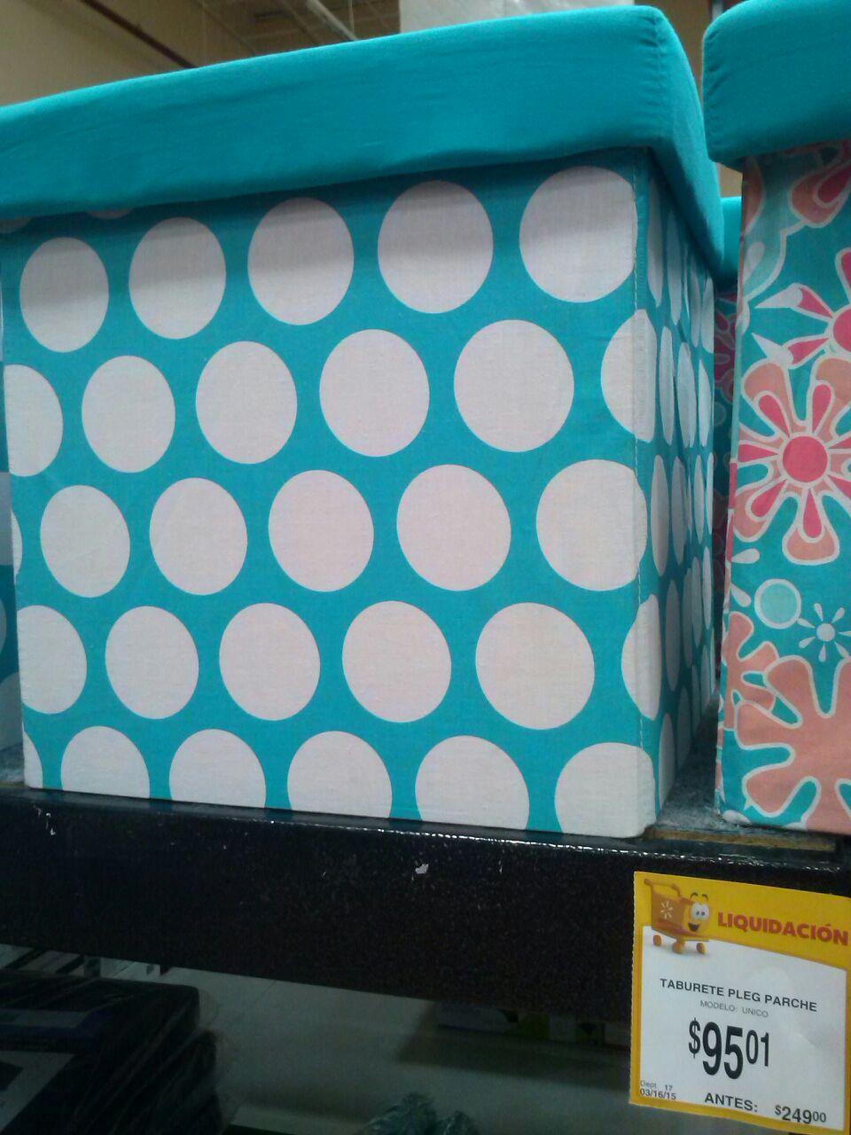 Walmart: Taburete rebajado de $249 a solo $95.01! colores súper cool