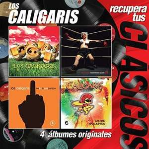 AMAZON: 4 álbumes de Los Caligaris  en CD