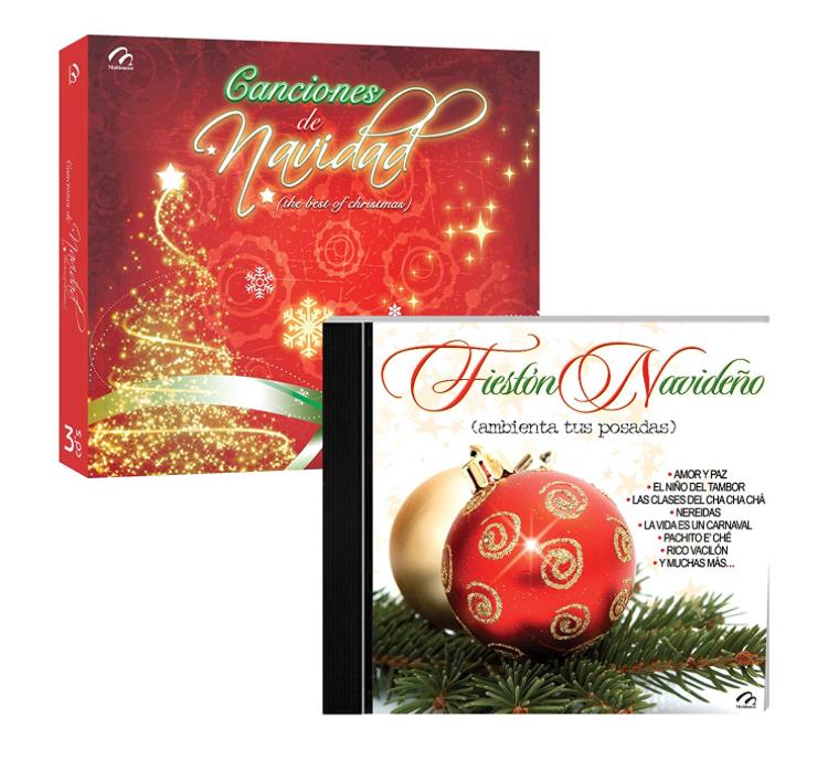 Amazon: Paquete 4 CDS Musica Navideña a $32