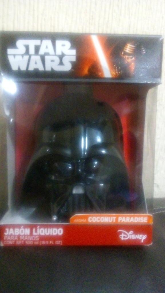 Walmart Santin, Toluca. Star Wars jabón líquido y más.