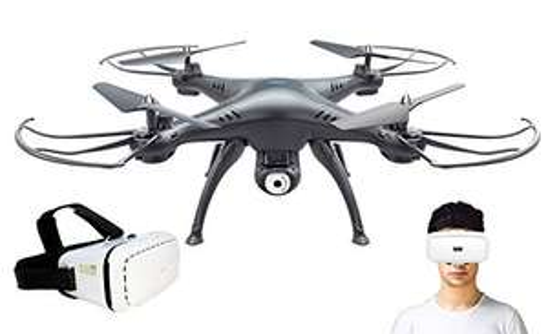 Amazon: Drone controlado con lentes VR